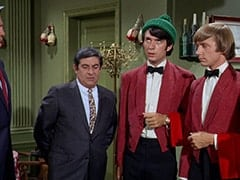 Fuselli (Harvey Lembeck), Mike Nesmith, Peter Tork