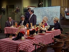 Paddy the Fix (Jon Kowal), Red O'Leary (Paul Sorensen), Rocco (Karl Lukas), Fuselli (Harvey Lembeck), Big Flora (Helene Winston), Benny the Book (Mousy Garner)