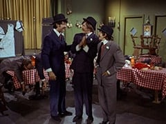 Paddy the Fix (Jon Kowal), Mike Nesmith, Micky Dolenz, Davy Jones