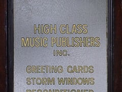 High Class Music Publishers Inc. / Greeting Cards, Storm Windows…