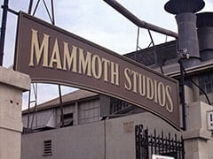 Outside Mammoth Studios