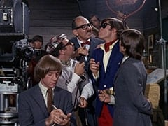 Ric Klein, Peter Tork, Director (Larry Gelman), Producer (Irwin Charone), David Price, M.D. (Micky Dolenz), Davy Jones