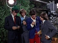 Mike Nesmith, Peter Tork, M.D. (Micky Dolenz), Davy Jones