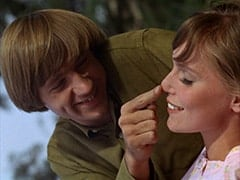 Peter Tork, Valerie Cartwright (Lisa James)