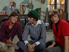 Mr. Schneider, Micky Dolenz, Mike Nesmith, Peter Tork