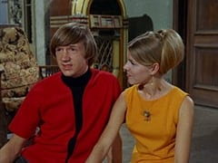 Peter Tork, Spin-the-Bottle Girl #1 (?)