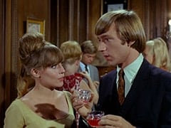 Valerie Cartwright (Lisa James), Peter Tork, Light Blonde Extra