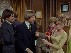 Micky Dolenz, Peter Tork, Valerie Cartwright (Lisa James)