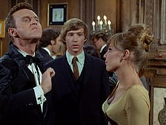 Ronnie Farnsworth (George Furth), Peter Tork, Valerie Cartwright (Lisa James)
