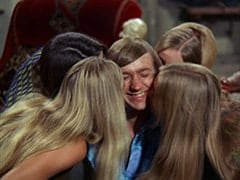 Spin-the-Bottle Girl #2 (?), Tall Brunette Extra, Peter Tork, Spin-the-Bottle Girl #1 (?), Dark Blonde Extra