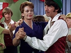 Peter Tork, Woman in Blue Dress (?), Mike Nesmith