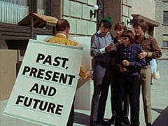 Ballroom Waiter (?), Mike Nesmith, Peter Tork, Davy Jones, Micky Dolenz - Past, Present and Future