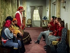Kiko (Mario Roccuzzo), Rocco (Vic Tayback), Marco (Vincent Beck), Mike Nesmith, Micky Dolenz, Peter Tork, Davy Jones