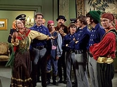 Maria (Jeanne Arnold), Rantha Mansion Guard #2 (Tony Regan), Marco (Vincent Beck), Rocco (Vic Tayback), Kiko (Mario Roccuzzo), Zeppo (Gene Dynarski), Davy Jones, Micky Dolenz, Mike Nesmith, Peter Tork