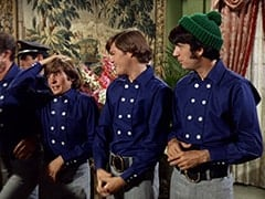 Rantha Mansion Guard #3 (?), Davy Jones, Micky Dolenz, Mike Nesmith