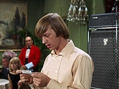 Speech Fan Woman (Roxanne Albee), Ballroom Waiter (?), Peter Tork