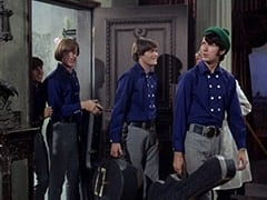 Davy Jones, Peter Tork, Micky Dolenz, Dr. Mendoza (John Hoyt), Mike Nesmith