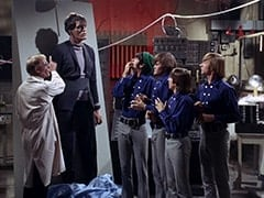 Dr. Mendoza (John Hoyt), Monster (Richard Kiel), Mike Nesmith, Micky Dolenz, Davy Jones, Peter Tork