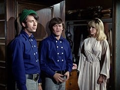 Mike Nesmith, Micky Dolenz, Doctor's Beautiful Daughter (Bonnie Dewberry)