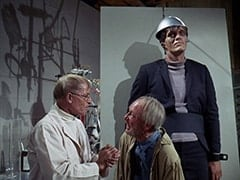 Dr. Mendoza (John Hoyt), Groot (Byron Foulger), Monster (Richard Kiel)