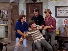 Davy Jones, Micky Dolenz, Mike Nesmith, Peter Tork, Mr. Schneider