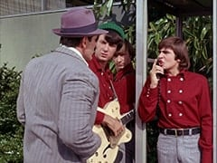 Superman (Clark Ross), Mike Nesmith, Peter Tork, Davy Jones