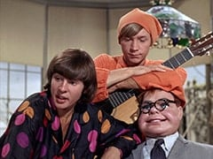 Davy Jones, Peter Tork, Mr. Schneider