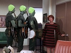 Jolly Green Giant #2 (?), Jolly Green Giant #3 (?), Jolly Green Giant #1 (?), Miss Irene Chomsky (Bobo Lewis)