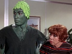 Jolly Green Giant #1 (?), Miss Irene Chomsky (Bobo Lewis)