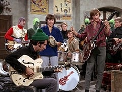 Martian #2 (John London), Mike Nesmith, Davy Jones, Micky Dolenz, Peter Tork, Foreign Agent #1 (Bill Callaway)