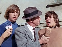 Peter Tork, Joey Sholto (Ned Glass), Davy Jones
