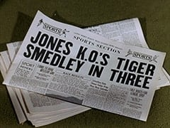 Jones K.O.'s Tiger Smedley in Three