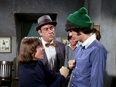 Davy Jones, Vernon (Joseph Perry), Micky Dolenz, Mike Nesmith