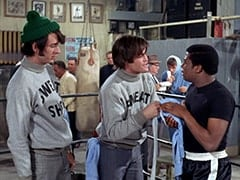 Mike Nesmith, Micky Dolenz, The Champ (D'Urville Martin)