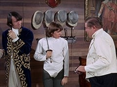 Mike Nesmith, Davy Jones, Max (Joe Higgins)