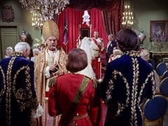 Courtier (Donald Foster), Cardinal (William Chapman), Davy Jones (Rodney Bingenheimer), Wendy Forsythe (Heather North), Count Myron (Oscar Beregi), Max (Joe Higgins), Mike Nesmith