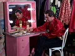 circus dressing room