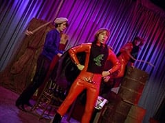 Mike Nesmith, Frogman (Peter Tork), Reuben the Tadpole (Davy Jones)