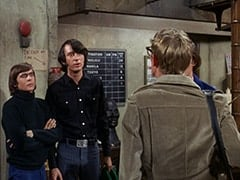 Davy Jones, Mike Nesmith, Rob Roy Fingerhead (Eldon Quick)