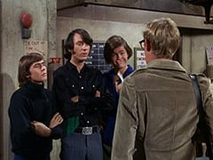 Davy Jones, Mike Nesmith, Micky Dolenz, Rob Roy Fingerhead (Eldon Quick)