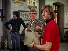 Mike Nesmith, Rob Roy Fingerhead (Eldon Quick), Peter Tork