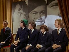 Rob Roy Fingerhead (Eldon Quick), Mike Nesmith, Micky Dolenz, Davy Jones, Peter Tork