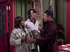 Davy Jones, Mike Nesmith, Chang (Kay Shimatsu)