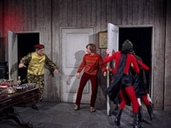 Dragonman (Joey Forman), Peter Tork, Mike Nesmith, Davy Jones