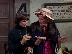Davy Jones, Milly Rudnick (Rose Marie)