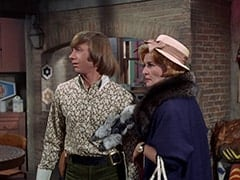 Peter Tork, Milly Rudnick (Rose Marie)