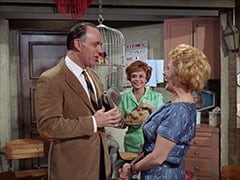 Larry (William Bramley), Judy (Judy March), Milly Rudnick (Rose Marie)
