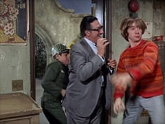 Mark (?), Mr. Babbit (Henry Corden), Peter Tork