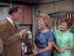 Larry (William Bramley), Milly Rudnick (Rose Marie), Judy (Judy March)