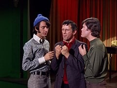 Mike Nesmith, Director (Jack Donner), Micky Dolenz